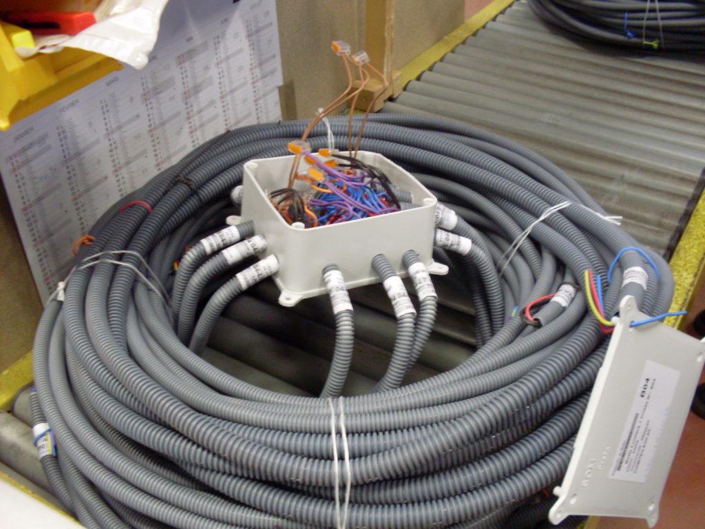 câblage filaire montage